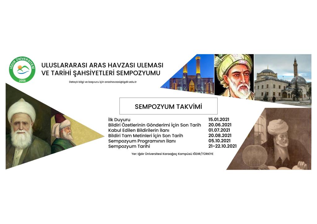 Uluslararası Aras Havzası Uleması ve Tarihi Şahsiyetleri Sempozyumu