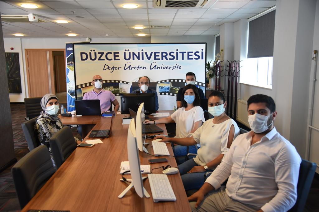 Üniversitemiz Study in Turkey YÖK Sanal Fuarı 2021'de Yerini Aldı