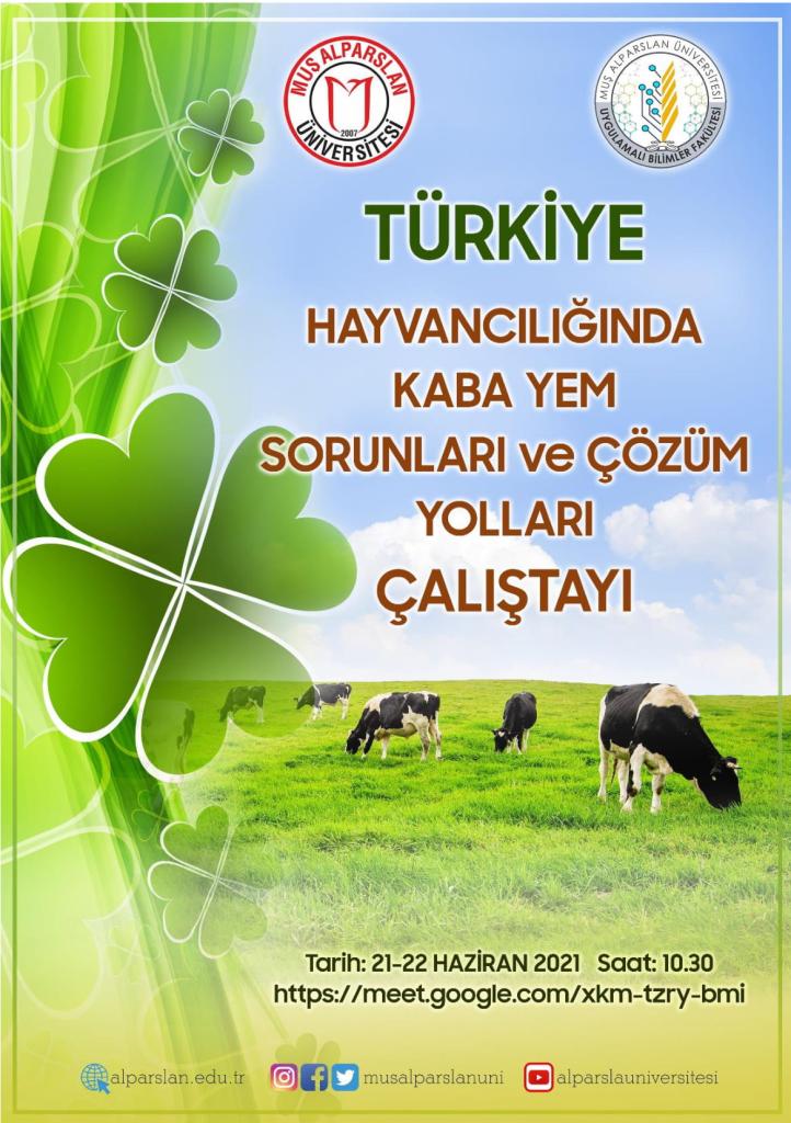 Türkiye Hayvancılığında Kaba Yem Sorunları ve Çözüm Yolları Çalıştayı