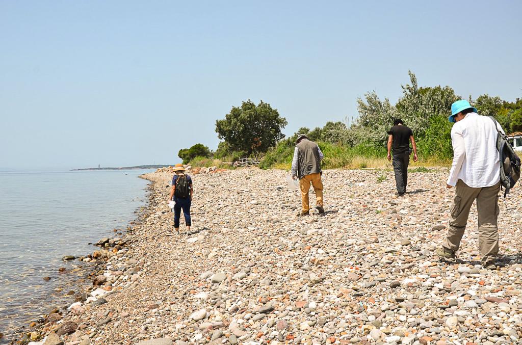 Çanakkale-Balıkesir Kıyı Şeridi Paleolitik Çağ Yüzey Araştırmasında İnsanlığın En Uzak Geçmişine Ait Yeni Buluntulara Ulaşıldı