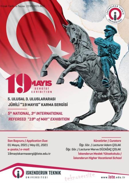 V. Ulusal, III. Uluslararası Jürili 19 Mayıs Karma Sergisi