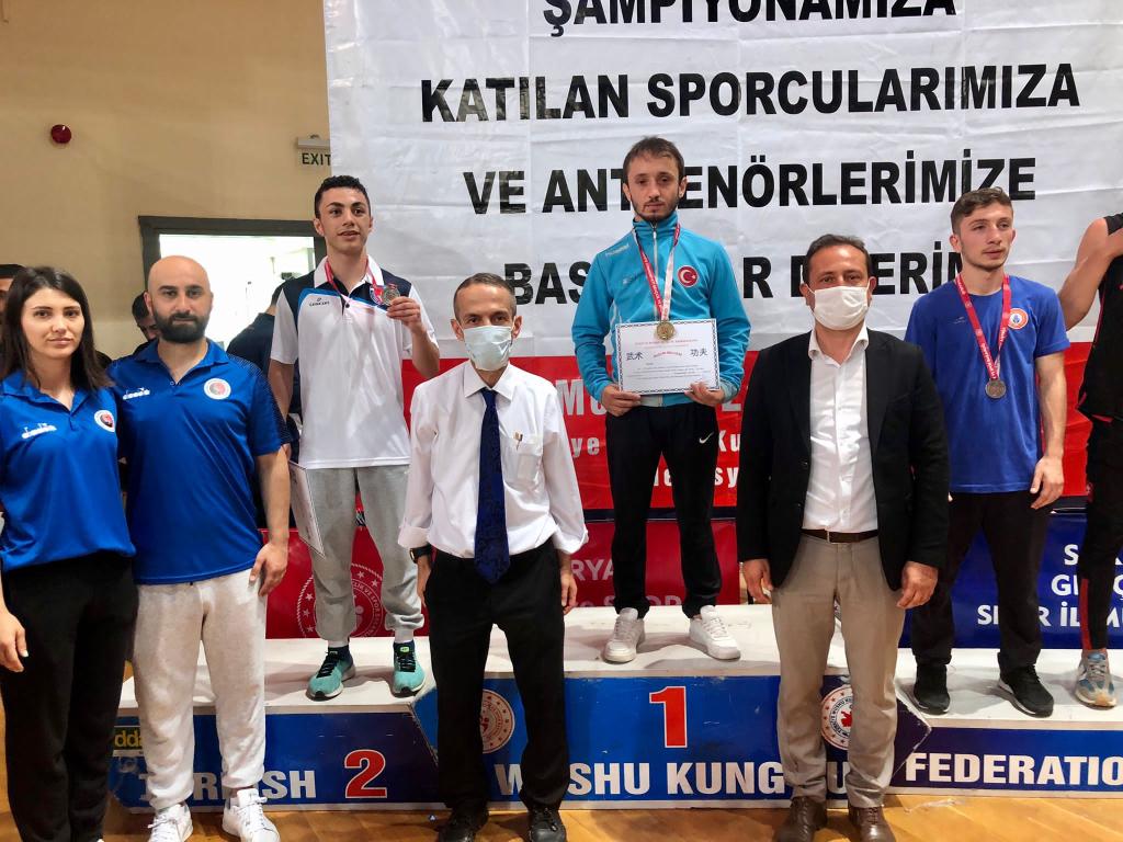 Mezun Öğrencimiz Wushu Türkiye Şampiyonası'nda Birinci Oldu