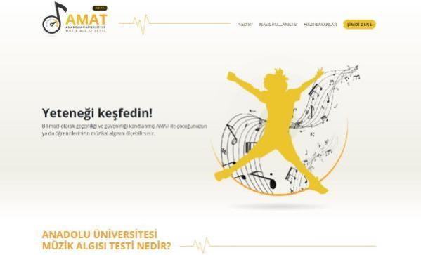 Anadolu Üniversitesi Müzik Algısı Testi (AMAT)