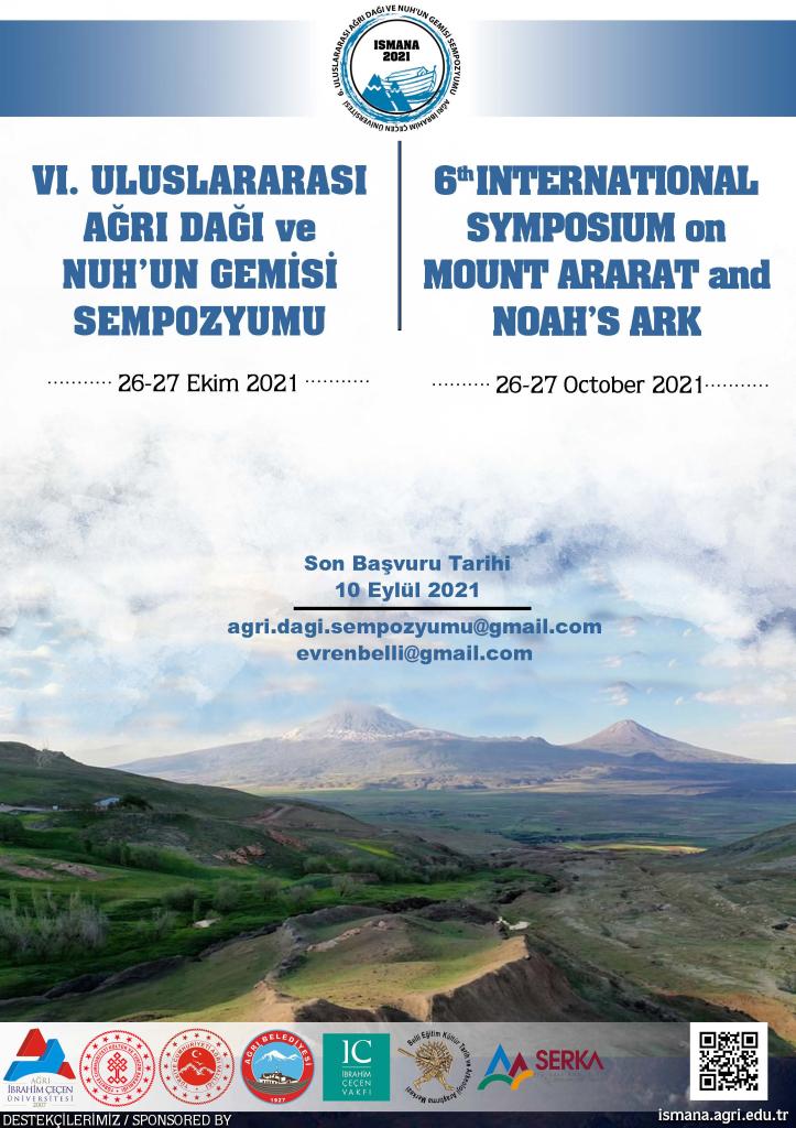 VI. Uluslararası Ağrı Dağı ve Nuh'un Gemisi Sempozyumu