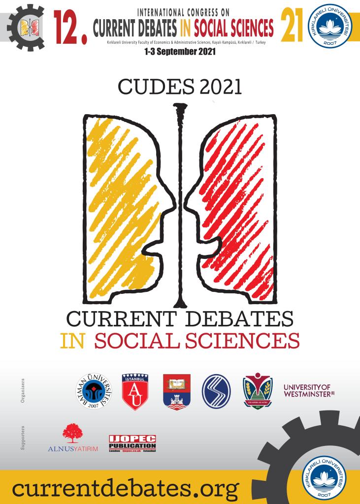 12. Uluslararası Sosyal Bilimlerde Güncel Tartışmalar
